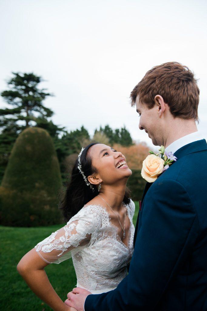 Beautiful couple wedding shots despite COVID restrictions